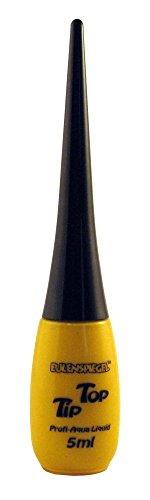 - Professional Liquid Aqua Schminke Tip Top - Flasche mit integriertem Pinsel - 5 ml - Gelb ()