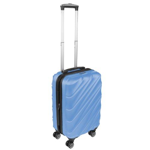 Reise-Koffer Trolley Hartschalenkoffer Groesse: M Farbe: Himmelblau SH003 Sicherheitszahlenschloss