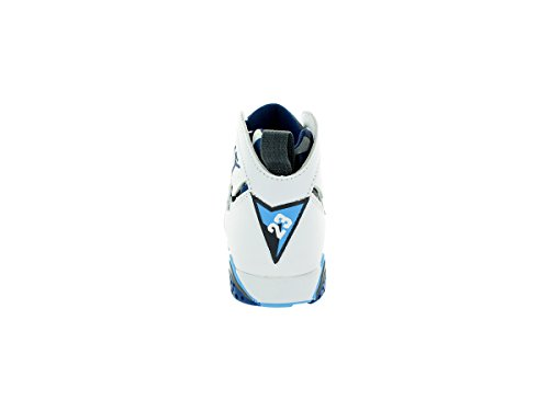 Nike Air Max 95 (gs) bianco Multi Giovani formatori 4.5y siamo Multicolour - Blanco / Azul (Wht / Frnch Bl-Unvrsty Bl-Flnt G)