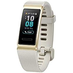 Huawei Band 3 Pro - Pulsómetro (GPS, HUAWEI TruSleep, monitoreo del ritmo cardiaco, 5ATM de resitencia al agua)