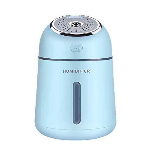 AOGOTO Ventilator Multifunktions USB Mini Lüfter LED- Luftbefeuchter Aroma Air Diffuser Mist Maker