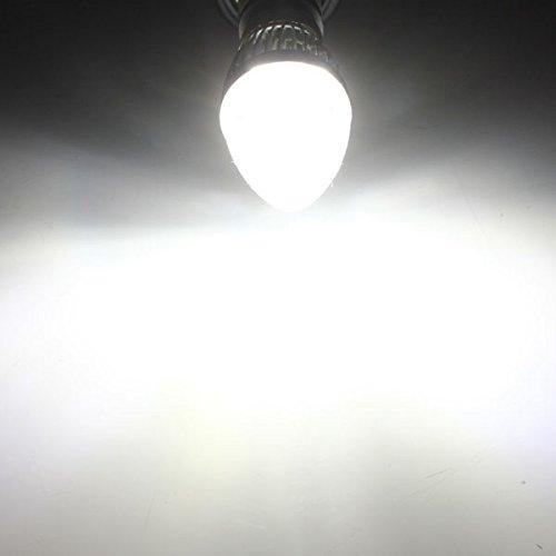 MASUNNE12 E14 E27 B22 dimmbar 9W LED Kronleuchter Kerze Glühbirne 220V - E12 - Cool weiß