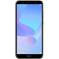 Huawei Y6 2018 Smartphone Débloqué 4G (5,7 pouces - 16 Go/2 Go - Double Nano-SIM ou Nano-SIM + port Micro-SD - Android) Noir
