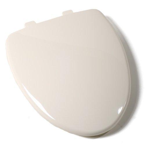 Comfort Seats C1B3E8S02 EZ Close Premium Plastic Toilet Seat for OnePiece Toilets, Elongated, Biscuit by Comfort Seats