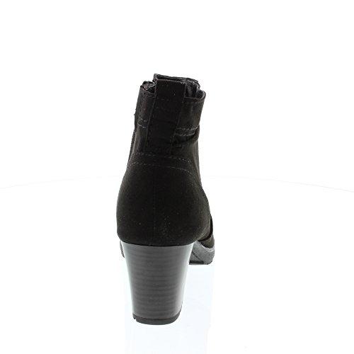 Softline Damen 25371 Stiefel Schwarz (Black)