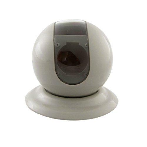 CCTV-Sicherheits-Plastikkugel-Art-Fall für 4 CCD-Dome-Kamera Off White 4-ccd-dome