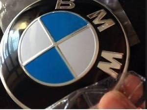 Dunwoth SK 27, Emblem blau und weiß, 82 mm, für Motorhaube oder Heckklappe.