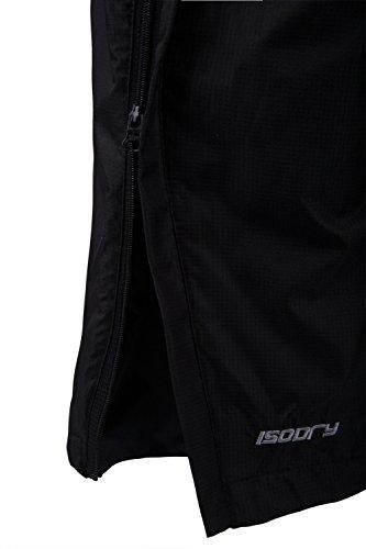 Mountain Warehouse Pantalon Femme Automne Hiver Imperméable Respirant Séchage Rapide Confort Poches Zip Noir