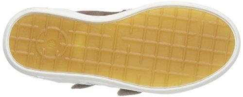 Bisgaard Velcro shoes, Baskets hautes mixte enfant Marron - Braun (37 Taupe)
