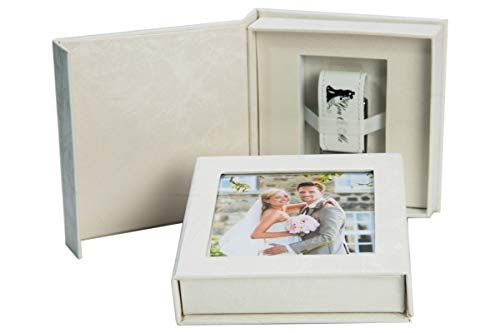Elegante disk chiavetta usb you & me con box usb. matrimonio design. 8 gb, 16 gb, 32 gb, 64 gb