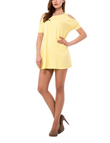 Isabella Roma Abito Scampanato, Vestido Para Mujer, Amarillo (17 Giallo), S