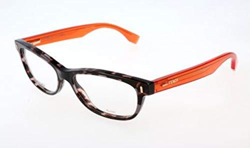 Fendi Damen FF 0034 RXD/15-52-15-135 Brillengestelle, Grau, 52
