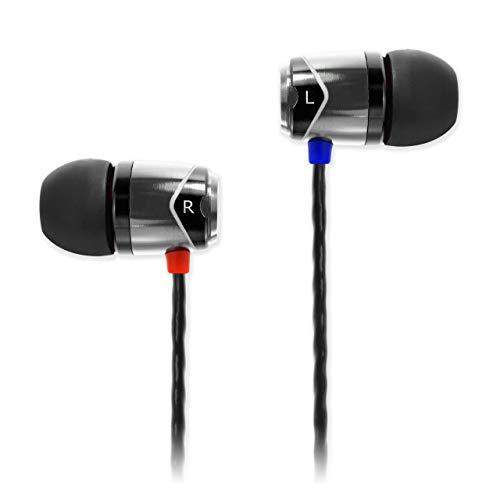 SoundMAGIC E10 - HiFi In-Ear-Kopfhörer, Schwarz/Silber