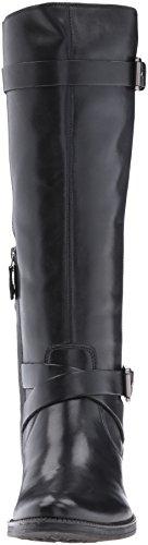 Geox D Mendi D, Bottes D'équitation Pour Femmes Black (noir C9999)