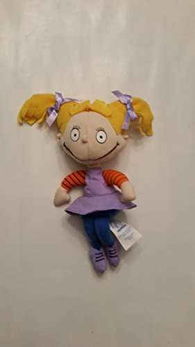 Nickelodeon Rugrats 6 Angelica Bean Bag Plush by Applause (Angelica Von Rugrats)