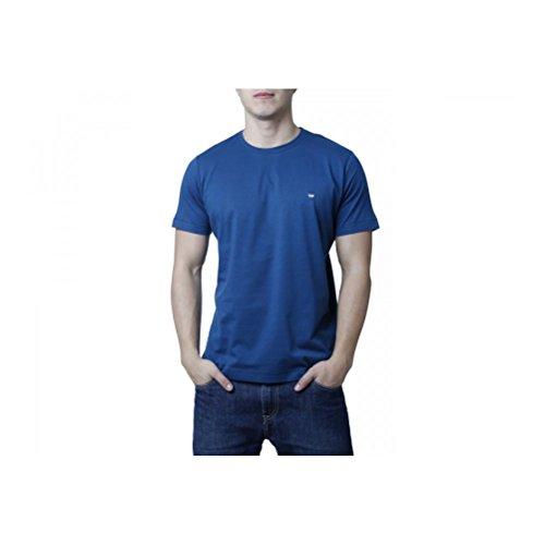 Diesel Herren T-CHIRP-RS Crew T-Shirt Blau
