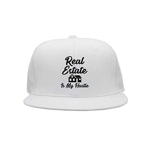 VTXINS Real Estate is My Hustle Funny Realtor Gift Unisex Washed Twill Cotton Baseball Cap Vintage Adjustable Hat - Hustle Trees