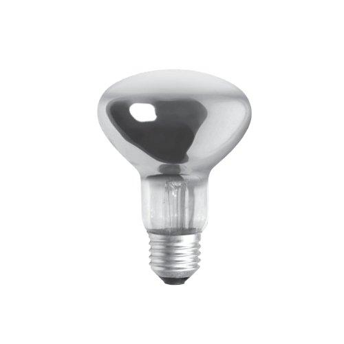 Bulk Hardware BH00567 80 W ES R80 Reflektorlampe (Packung à 5), Weiß, 5 Stück