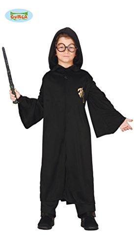 Zauberer Schüler Kostüm für Kinder Gr. 98-146, (Kostüm Kind Magier)