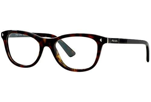 Prada Für Frau 05r Tortoise Kunststoffgestell Brillen, 51mm
