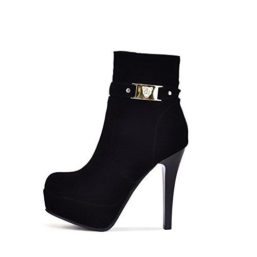 Sconosciuto 1TO9 - Stivali Chelsea Donna Black