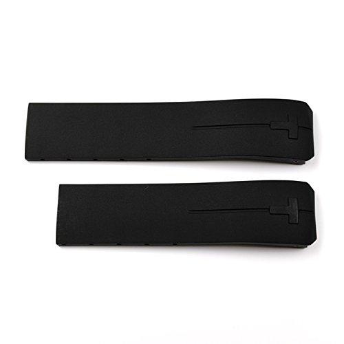 Gurt Kautschuk schwarz Tissot Touch Expert und Touch II t610026464& # xfeff;