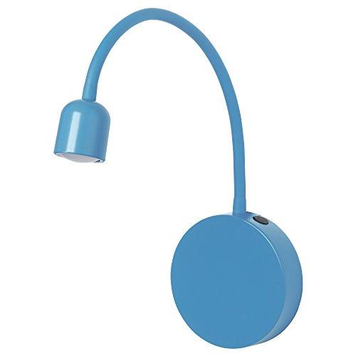 ZigZag Trading Ltd IKEA BLAVIK - LED Wandleuchte Batteriebetrieben blau