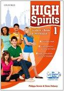 High spirits. Starter-Student's book-Workbook-My digital book. Per la Scuola media. Con CD-ROM. Con espansione online: 1