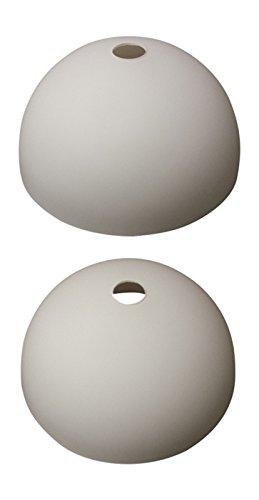 Glas Lampenschirme Stehlampen (Wofi Lampenglas 7764 Georgia Ersatzschirm Schirm Glas Lampenschirm Ersatzglas für Pendelleuchte Fluter Stehlampe ca.24,5 cm)