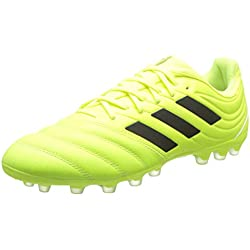 adidas Copa 19.3 AG, Hombre, Amarillo (Solar Yellow/Core Black/Solar Yellow 0), 42 EU