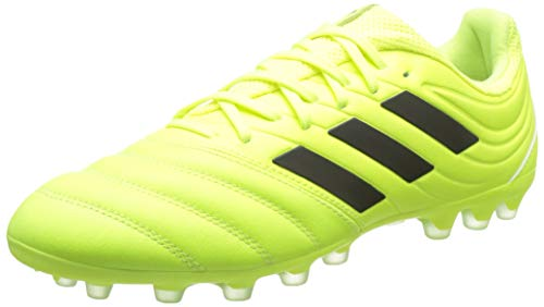 adidas Copa 19.3 AG, Hombre, Amarillo (Solar Yellow/Core Black/Solar Yellow 0), 42 EU