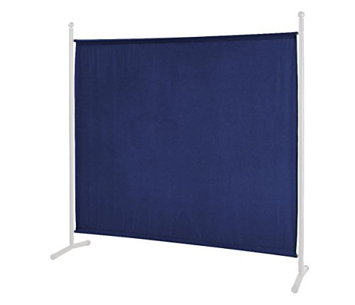 GRASEKAMP Qualität seit 1972 Ersatz Bezug Stellwand 178x178cm Blau Raumteiler Trennwand Sichtschutz