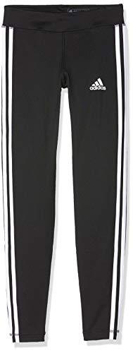 adidas Mädchen Yg Tr Eq 3s L T Tights,schwarz(black/White),XL(Herstellergröße:13-14Y)