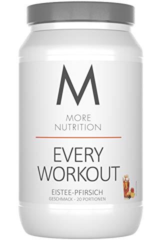 Spa Wasser (More Nutrition Every Workout Booster. Wach & Fokussiert Bei Jedem Training. Für Bodybuilding Und Kraftsport 1 x 700g (Eistee - Pfirsich))