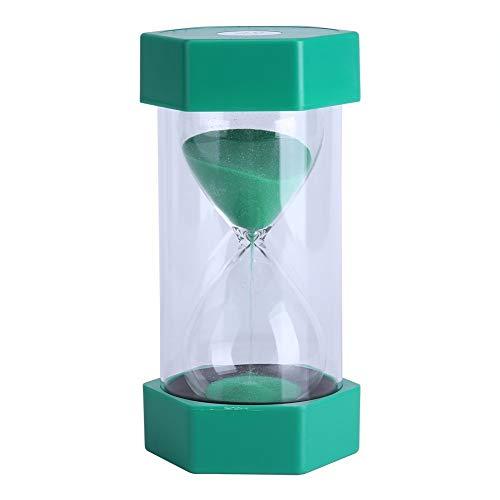 Sanduhr 3/10/20/30/60Minuten - für Heim, Büro oder als Deko, Geschenk 10 minutes green