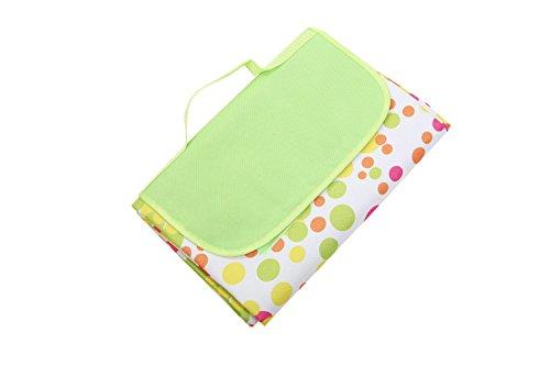 Honeystore Oxford Picknickdecke mit wasserabweisender Unterseite Tropfen 200*150