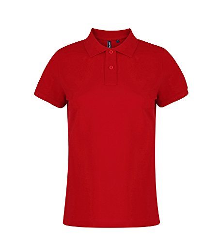 Asquith Fox - Polo - Femme Rouge - Rouge