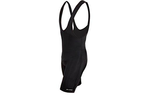 Massi Sport - Culotte con Tirantes para Hombre, Color Negro, Talla M