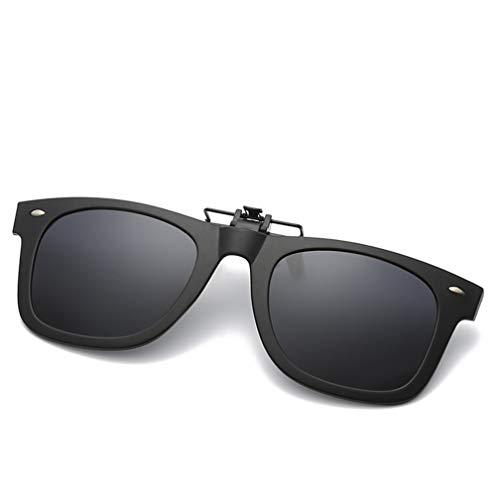 Sonnenbrille Aufsatz,Sonnenbrille Clip Auf Flip Up Night Vision Gläser Blendschutz Polarisierte Für Driving Golf Schießen Jagd Outdoor Sports