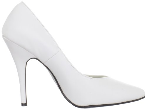 Pleaser Damen Seduce-420 Pumps Blanco(Weiß)