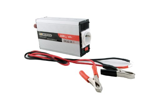 SUMEX PWI8307 - CONVERTIDOR POWER INVERTER 600W CON/USB Y HOMOLOGACION TUV  TRANSFORMADOR DE CORRIENTE DE 12V A 220/240V