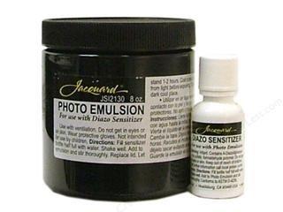 Jacquard Photo Emulsion & Diazo 8oz by Jacquard