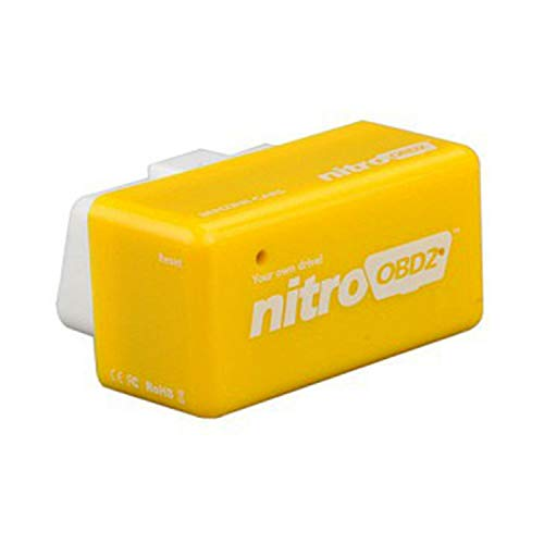 KAKAT Eco OBD2 Economy Tuning Box Chip Car Petrol Fuel Saver Power Box Auto  Chip Tuning Fuel Saving Device New Best Tool Save 15% Fuel (Yellow)