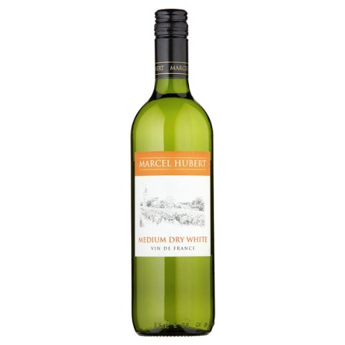 Marcel-Hubert-Medio-75cl-de-vino-blanco-seco-paquete-de-6-x-75-cl