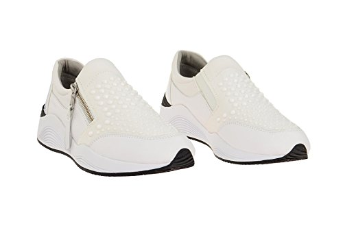 Sport scarpe per le donne, colore Nero , marca GEOX, modello Sport Scarpe Per Le Donne GEOX D OMAYA Nero Bianco