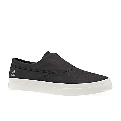HUF Skateboard Shoes Dylan Slip On Black VC00087-BLACK