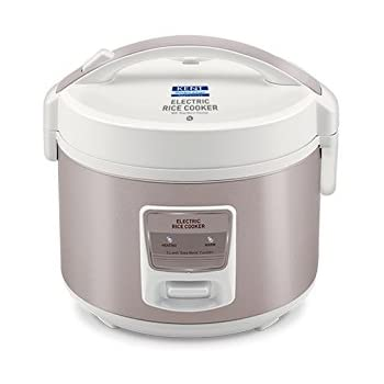 Buy kent rice and steam cooker 860 watt steel grey online at low kent electric rice cooker 3 litres 860 watt white and reddish grey fandeluxe Image collections