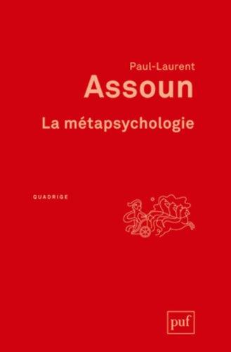 La métapsychologie