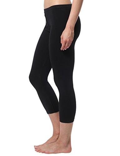 Berydale Capri Leggings Femme, 100 DEN, Noir, XL