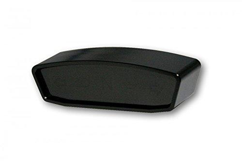 Highsider Motorrad-Instrument Alu Kontrollleuchteneinheit getönt schwarz